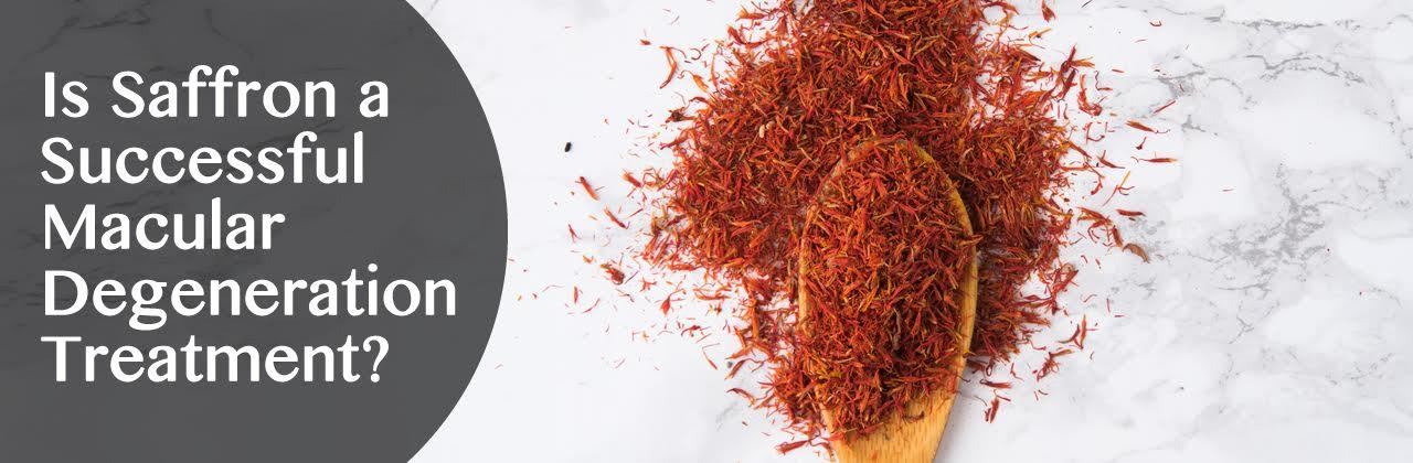 Is Saffron a Successful Macular Degeneration Treatment